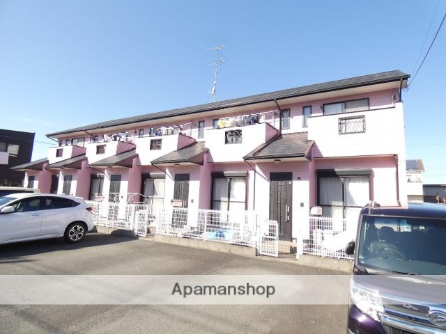 静岡県浜松市東区、浜松駅遠鉄バスバス25分中野町下車後徒歩5分の築16年 2階建の賃貸テラスハウス