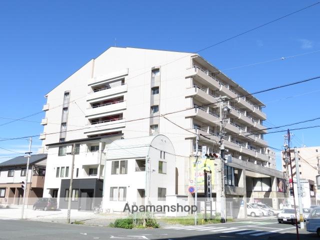 静岡県浜松市中区、浜松駅バス7分元浜町下車後徒歩4分の築27年 7階建の賃貸マンション