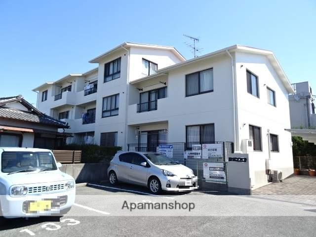 静岡県浜松市東区、天竜川駅徒歩15分の築25年 3階建の賃貸マンション