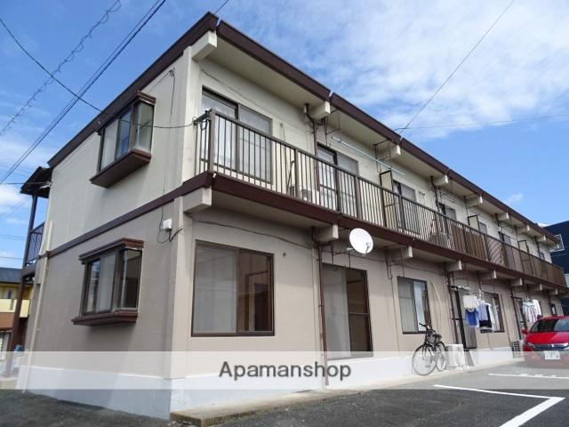 静岡県浜松市東区、天竜川駅徒歩20分の築29年 2階建の賃貸アパート