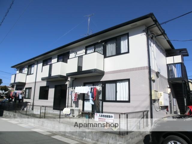 静岡県浜松市東区、浜松駅バス22分上新屋南下車後徒歩4分の築18年 2階建の賃貸アパート