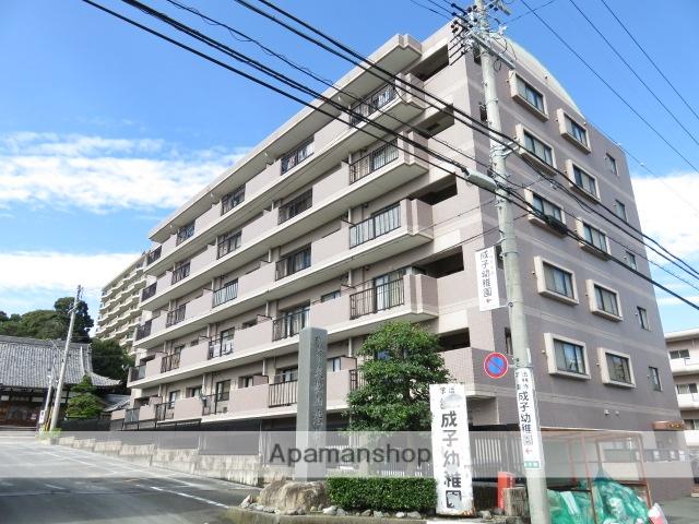 静岡県浜松市中区、浜松駅徒歩12分の築17年 6階建の賃貸マンション