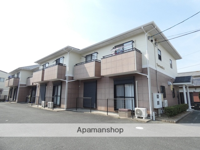静岡県浜松市中区、浜松駅徒歩21分の築18年 2階建の賃貸テラスハウス
