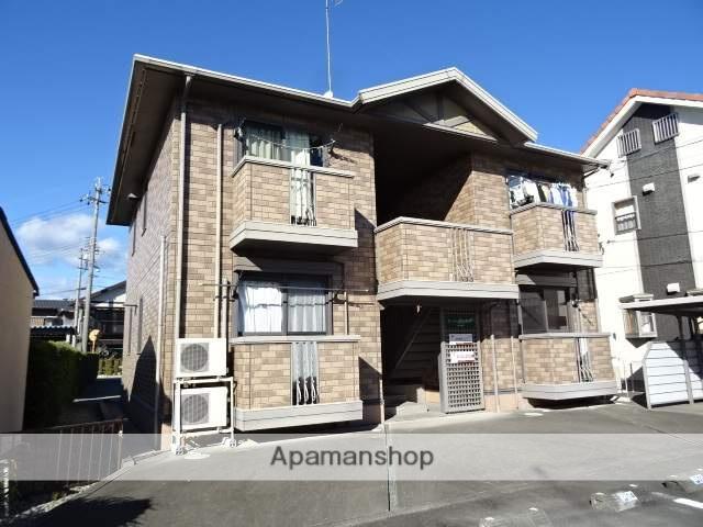 静岡県浜松市浜北区、浜北駅徒歩17分の築15年 2階建の賃貸アパート