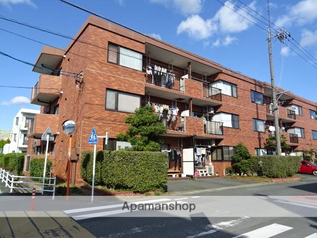静岡県浜松市東区、天竜川駅徒歩16分の築34年 3階建の賃貸マンション