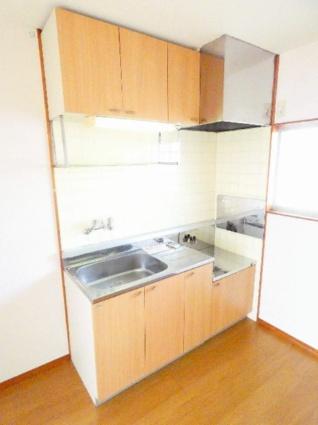 ハイツ竹山[2DK/43.03m2]のキッチン