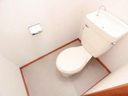 ハイツ竹山[2DK/43.03m2]のトイレ