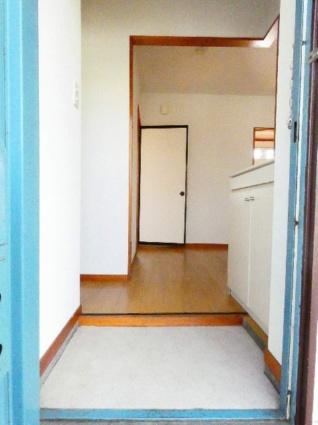 ハイツ竹山[2DK/43.03m2]の玄関