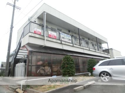 静岡県浜松市東区、浜松駅遠鉄バスバス42分浜松ホトニクス下車後徒歩1分の築37年 2階建の賃貸アパート