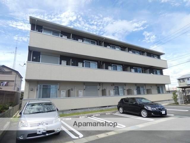 静岡県浜松市南区、浜松駅遠鉄バスバス12分大畑下車後徒歩1分の新築 3階建の賃貸アパート