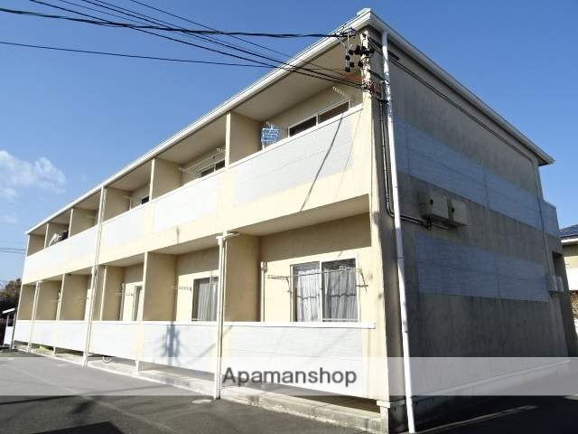 静岡県浜松市南区、浜松駅バス15分あみだ寺前下車後徒歩1分の築13年 2階建の賃貸アパート