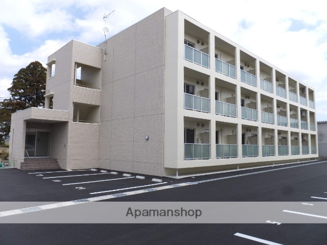 静岡県浜松市北区、常葉大学前駅徒歩32分の築1年 3階建の賃貸マンション