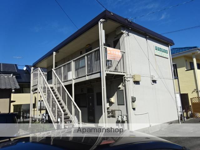 静岡県浜松市南区、浜松駅遠鉄バスバス16分芳川下車後徒歩5分の築29年 2階建の賃貸アパート