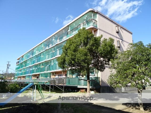 静岡県浜松市浜北区、岩水寺駅徒歩27分の築26年 4階建の賃貸マンション