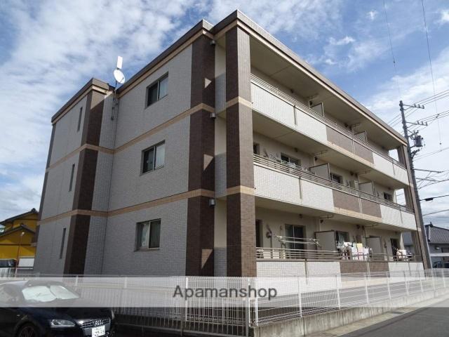 静岡県浜松市浜北区、遠州西ヶ崎駅徒歩17分の新築 3階建の賃貸マンション