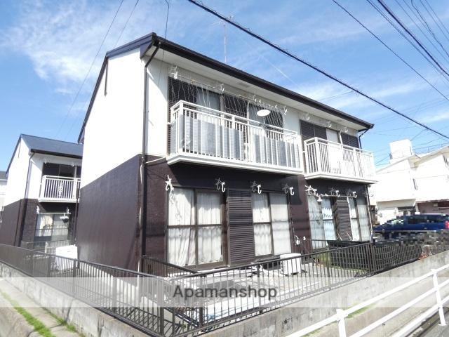 静岡県浜松市南区、浜松駅徒歩30分の築25年 2階建の賃貸アパート