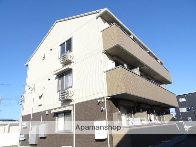 静岡県浜松市東区、天竜川駅徒歩21分の新築 3階建の賃貸アパート