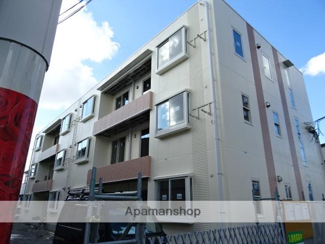 静岡県浜松市中区、浜松駅バス23分追分バス停下車後徒歩1分の新築 3階建の賃貸アパート