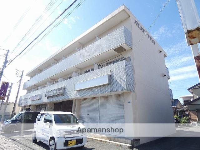 静岡県浜松市中区、浜松駅バス16分西郵便局下車後徒歩5分の築32年 3階建の賃貸マンション