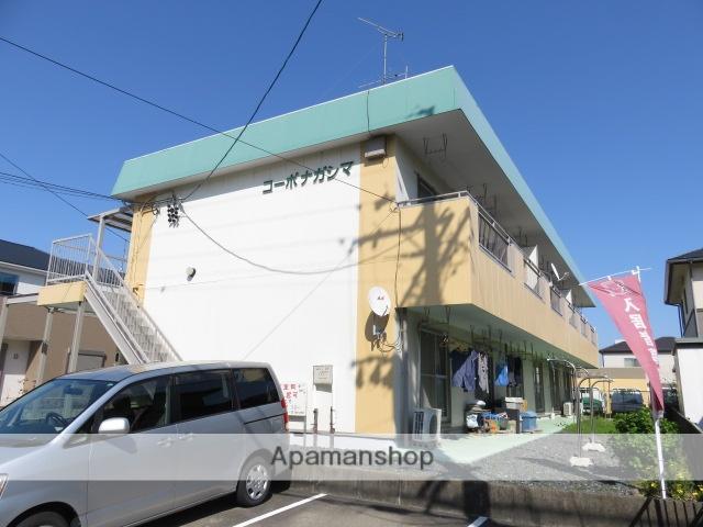 静岡県浜松市南区、浜松駅バス20分西伊場下車後徒歩6分の築32年 2階建の賃貸アパート