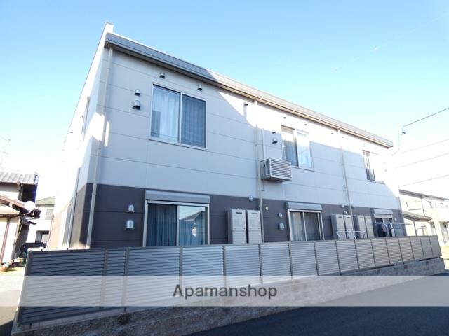 静岡県浜松市浜北区、遠州西ヶ崎駅徒歩18分の新築 2階建の賃貸アパート