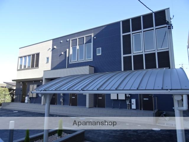 静岡県浜松市東区、浜松駅バス27分半田上下車後徒歩1分の新築 2階建の賃貸アパート