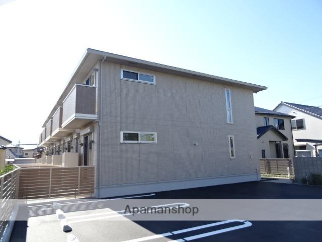 静岡県浜松市浜北区、浜北駅徒歩15分の新築 2階建の賃貸テラスハウス