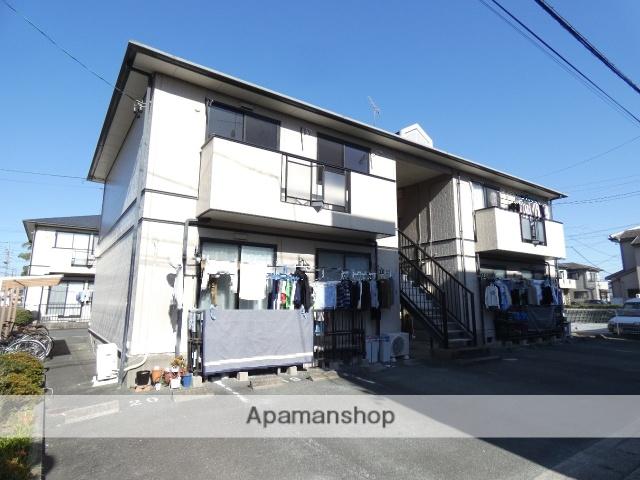 静岡県浜松市東区、浜松駅バス30分与進小北下車後徒歩5分の築23年 2階建の賃貸アパート