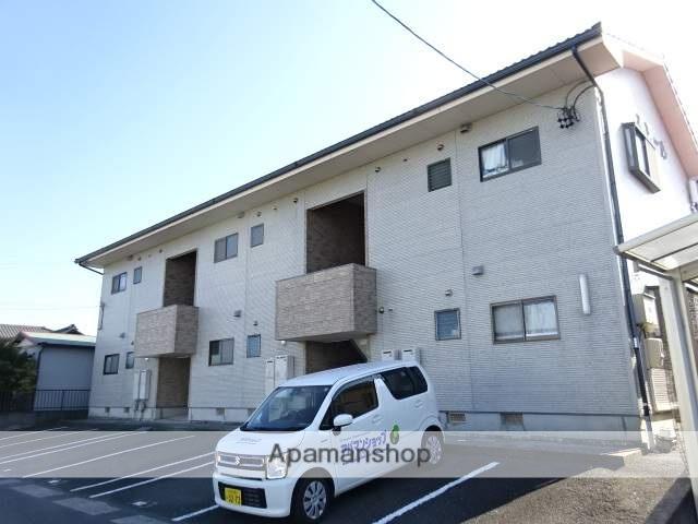 静岡県浜松市南区、浜松駅遠鉄バスバス12分四本松北下車後徒歩2分の築18年 2階建の賃貸アパート