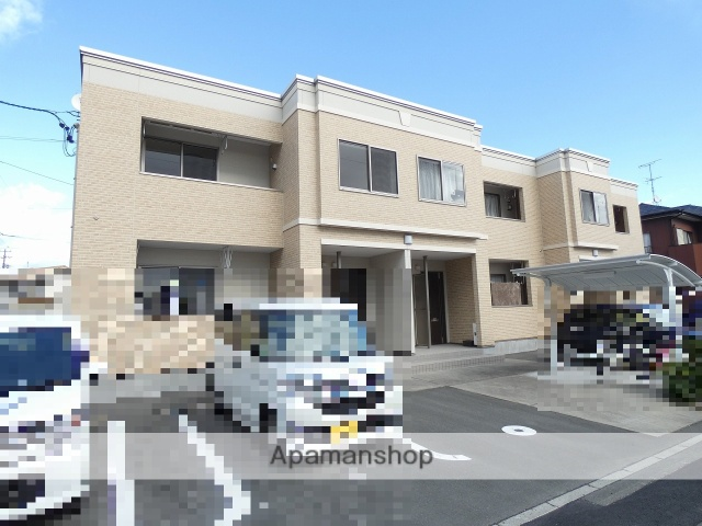 静岡県浜松市浜北区、浜北駅徒歩15分の新築 2階建の賃貸アパート