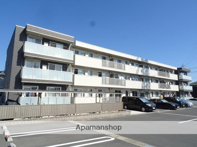 静岡県浜松市東区、天竜川駅徒歩25分の新築 3階建の賃貸アパート