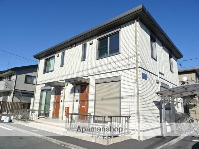 静岡県浜松市東区、浜松駅バス45分笠井本町下車後徒歩10分の築3年 2階建の賃貸テラスハウス