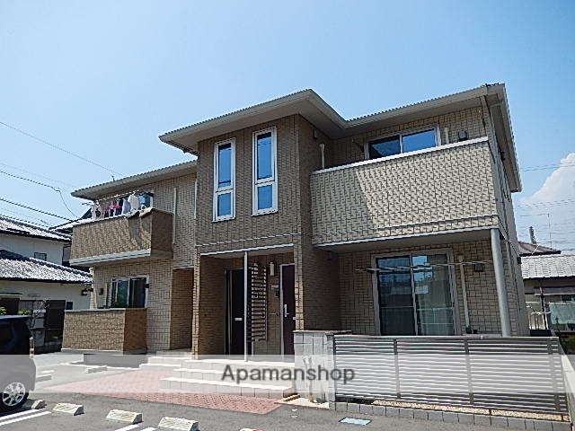 静岡県浜松市南区、浜松駅遠鉄バスバス20分スズキ入口下車後徒歩3分の築5年 2階建の賃貸アパート
