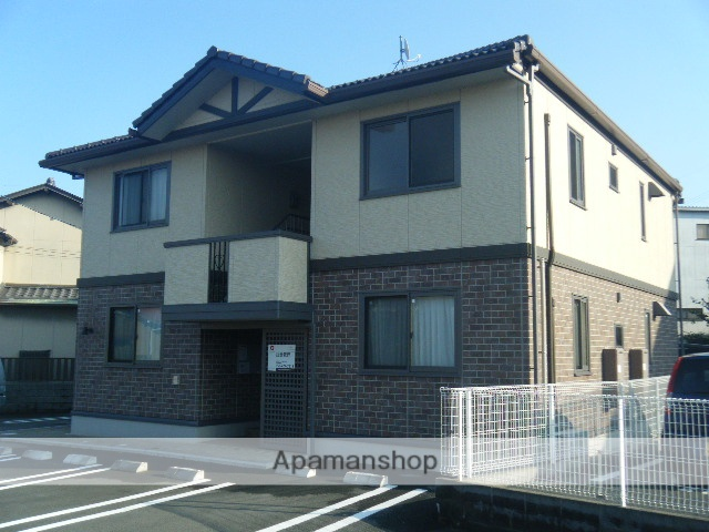 静岡県浜松市南区、浜松駅バス18分八丁畷下車後徒歩5分の築10年 2階建の賃貸アパート