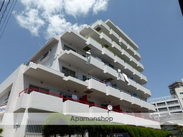静岡県浜松市中区、浜松駅徒歩15分の築32年 6階建の賃貸マンション
