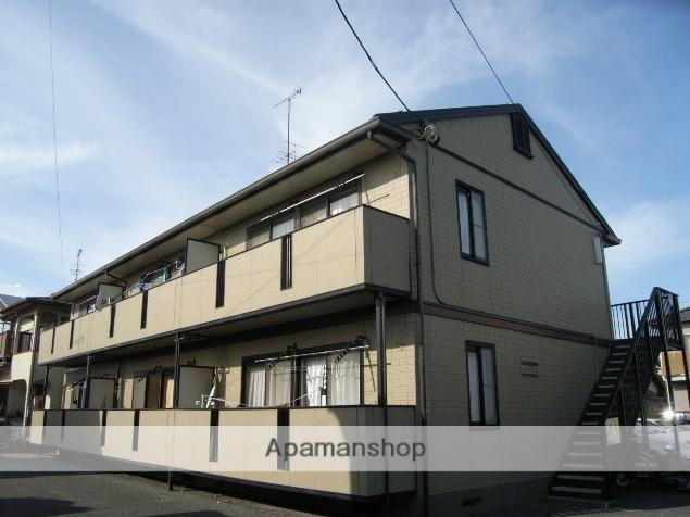 静岡県浜松市東区、天竜川駅徒歩12分の築21年 2階建の賃貸アパート