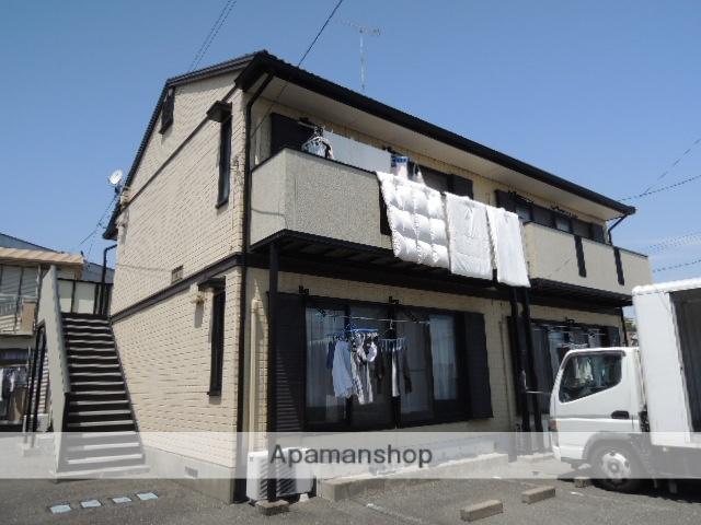 静岡県浜松市東区、天竜川駅徒歩22分の築26年 2階建の賃貸アパート