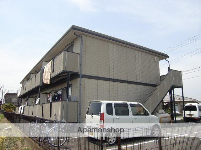 静岡県浜松市東区、浜松駅バス28分与進小学校下車後徒歩10分の築20年 2階建の賃貸アパート