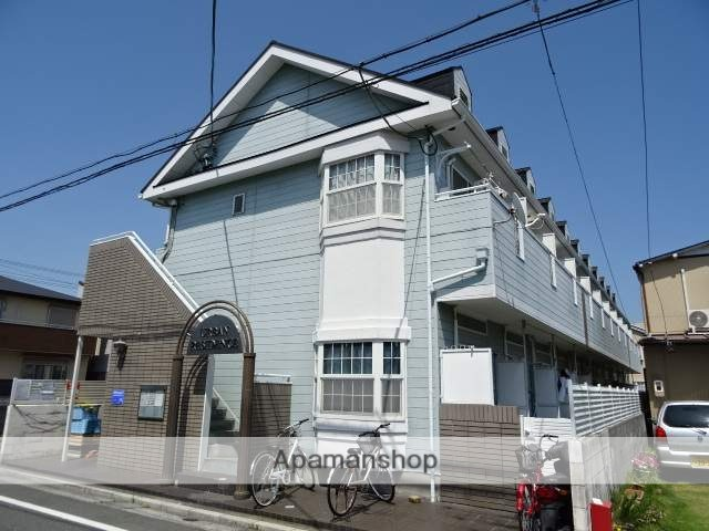 静岡県浜松市中区、遠州病院駅徒歩15分の築28年 2階建の賃貸アパート