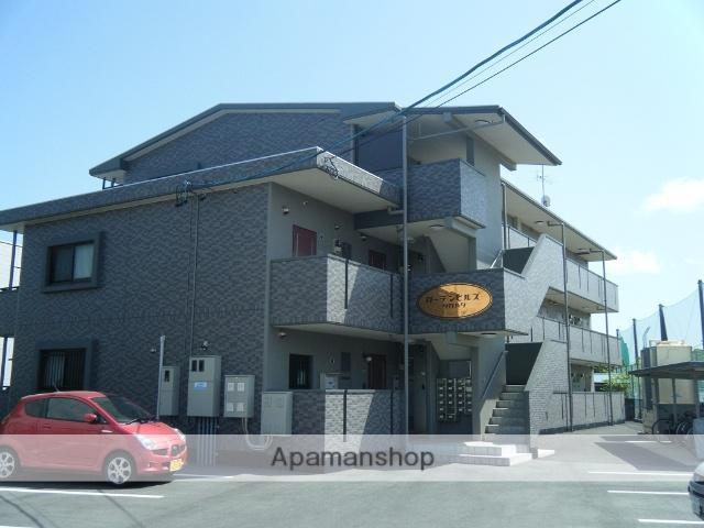 静岡県浜松市浜北区、浜北駅徒歩12分の築9年 3階建の賃貸マンション