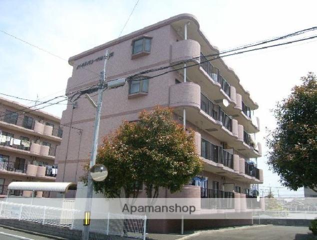 静岡県浜松市東区、浜松駅バス25分有玉北下車後徒歩11分の築18年 4階建の賃貸マンション