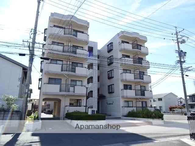 静岡県浜松市東区、天竜川駅徒歩27分の築28年 5階建の賃貸マンション