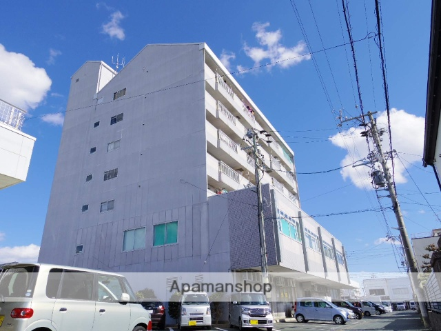 静岡県浜松市中区、浜松駅遠鉄バスバス15分住吉町下車後徒歩1分の築28年 7階建の賃貸マンション