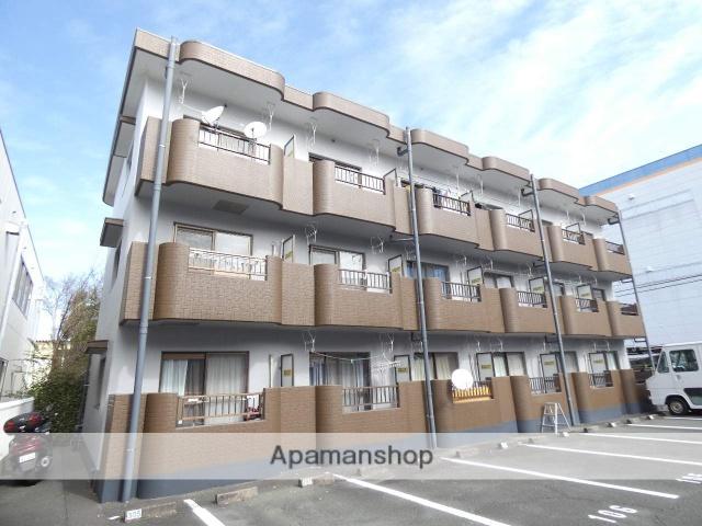 静岡県浜松市東区、天竜川駅徒歩14分の築22年 3階建の賃貸マンション