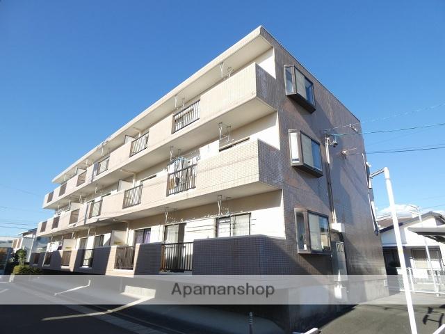 静岡県浜松市中区、浜松駅バス20分西伊場下車後徒歩5分の築23年 3階建の賃貸マンション