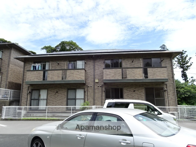 静岡県浜松市東区、浜松駅遠鉄バスバス15分北やぶ入口下車後徒歩10分の築14年 2階建の賃貸アパート