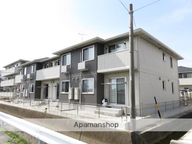 静岡県浜松市中区、浜松駅遠鉄バスバス16分よろい橋下車後徒歩8分の築3年 2階建の賃貸アパート