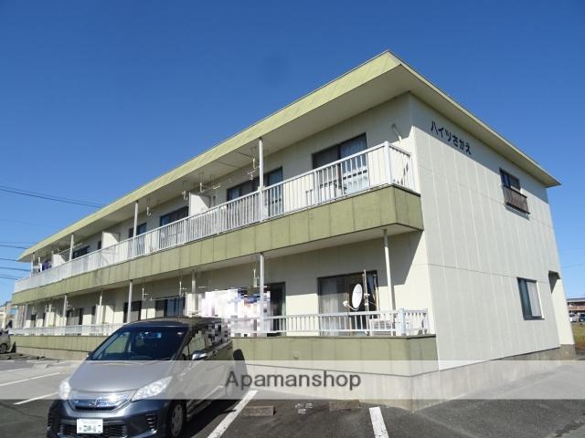 静岡県浜松市浜北区、遠州小松駅徒歩34分の築30年 2階建の賃貸アパート
