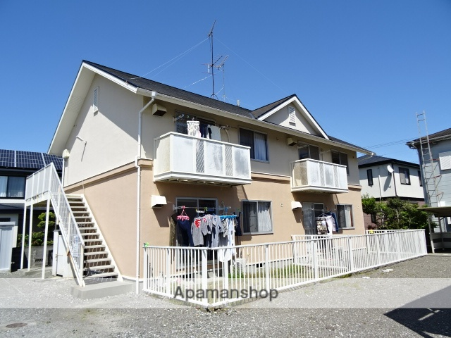 静岡県浜松市東区、自動車学校前駅徒歩24分の築27年 2階建の賃貸アパート
