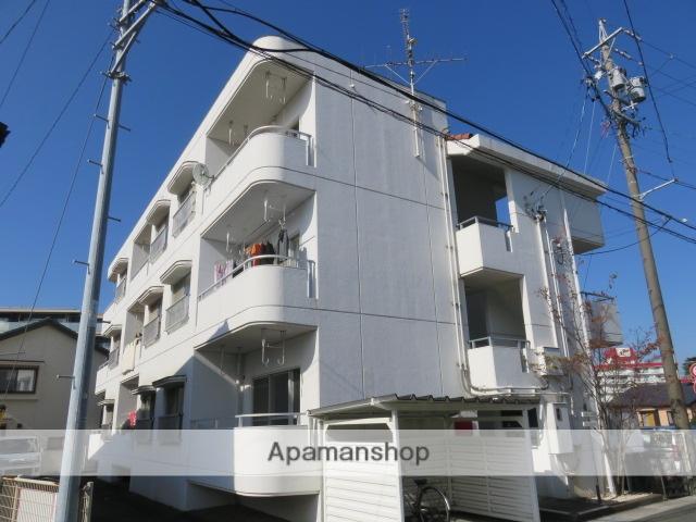 静岡県浜松市中区、浜松駅遠鉄バスバス13分根上がり松下車後徒歩5分の築32年 3階建の賃貸マンション